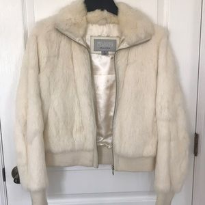 Wilson's leather furry jacket